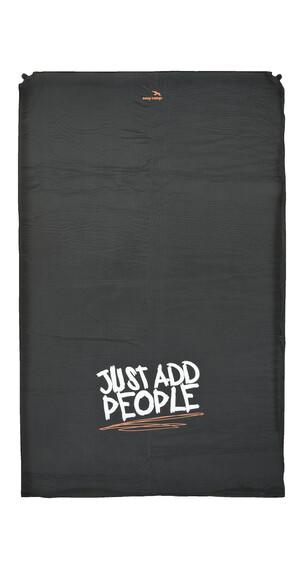 Easy Camp Siesta zelf-opblaasbare slaapmat Double 5,0cm zwart